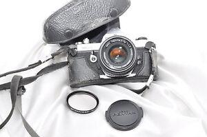 PENTAX MX + PENTAX 1:1.7 50mm Objektiv,