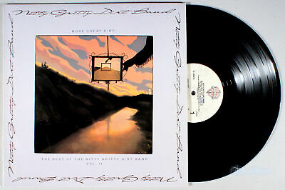 Nitty Gritty Dirt Band - More Great Dirt: Best of Vol. 2 (1989) Vinyl LP (Best Rock Bands 1980s)