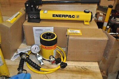 Enerpac Sch302h 30 Ton Hollow Ram Pump Cylinder Set Rch302 Ga45gc Hc7206c New