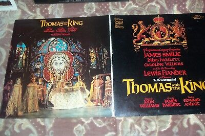 SOUNDTRACK - THOMAS & THE KING - GATEFOLD SLEEVE - LTD EDITION # 007 - £10