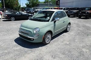 2016 Fiat 500C, DÉCAPOTABLE, CUIR, MAGS LOUNGE, BLUETOOTH
