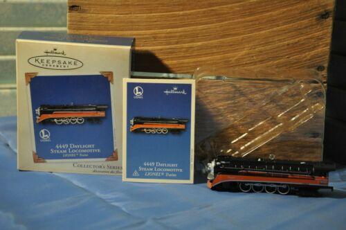 2003 Hallmark Keepsake Christmas Ornament 4449 Daylight Steam Locomotive Lionel