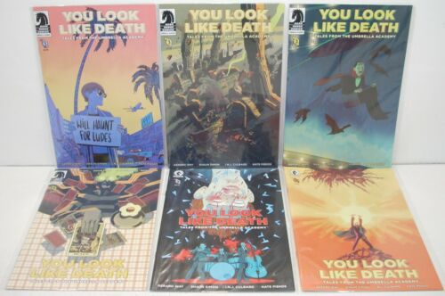 Dark Horse Comics YOU LOOK LIKE DEATH 1-6 (of 6) Complete Umbrella Academy 2020