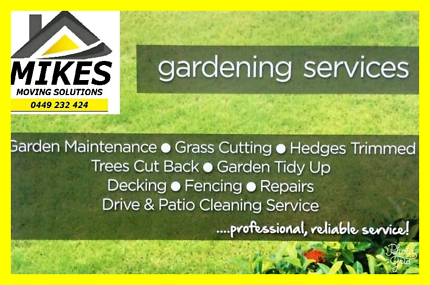 MIKES GARDENING SOLUTIONS