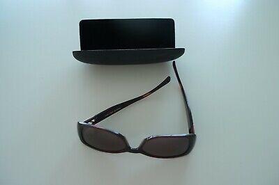 Elle Sonnenbrille, mit Schriftzug am Bügel, gut erhalten m. stabilem Brillenetui