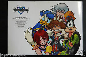 Kingdom-Hearts-Visual-Arts-Collection-Disney-art-book-Japan-2003-OOP