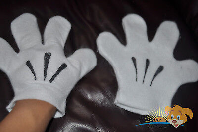 NWT Mickey Minnie Mouse pair of GLOVES white Adult  Infants Toddler