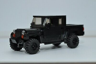 LEGO City Jeep Gladiator Truck Red Black SUV Custom Speed Champions Jeep Gladiator Truck