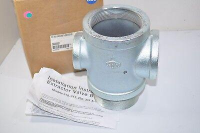 Ebw Franklin Fueling 4 X 4 X 2 X 2 300 Extractor Valve Body - 340-400-11
