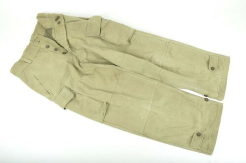 Vintage French Military Army M47 FIRST TYPE Field Trousers Pants