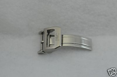IWC Stainless Steel Deployment Buckle 18mm, mint