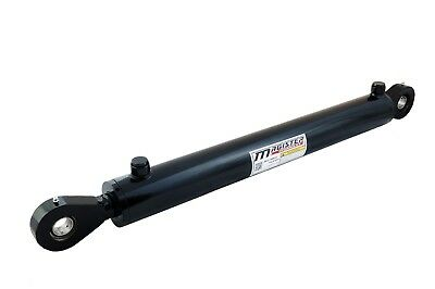 Hydraulic Cylinder Welded Double Acting 2.5 Bore 24 Stroke Swivel Eye 2.5x24