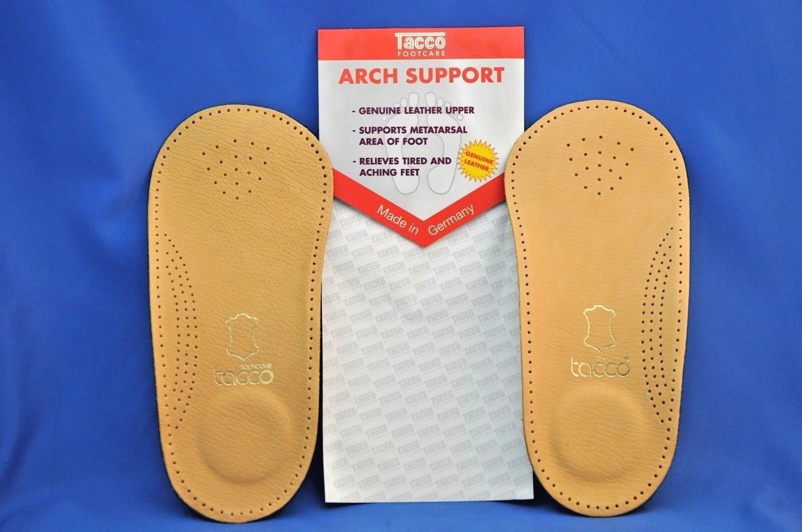 Tacco 650 3/4 Length Orthotic Insert Arch Support- ALL SIZES