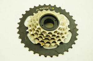 6 speed mega range on freewheel cassette 14 34 hi range suit shimano gears ebay