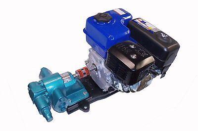 Gas Powered Oil Transfer Pump Portable Biodiesel Wvo Waste Oil Black Diesel