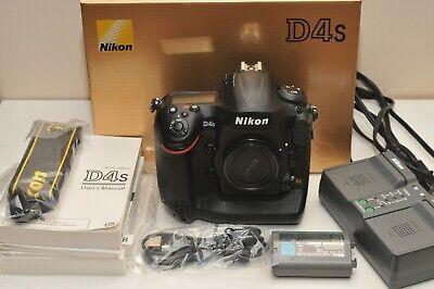 Used Nikon D4S 16.2MP Digital SLR Camera - Black (Body Only) 35000 shutter count
