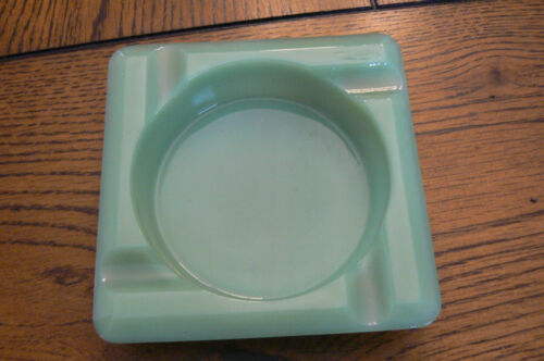 Vintage Fire King Jadeite Jadite Ashtray FREE US SHIP