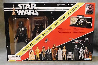"Star Wars Black Series 40th Anniversary Darth Vader Legacy Pack 6"" Action Figure"