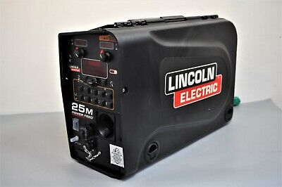 Lincoln Power Feed 25m Advanced Wire Feeder Bench Model Mig Welder K2536-5