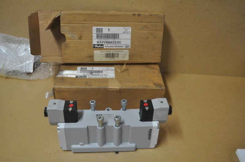 PARKER H32VXBH023C PNEUMATIC SOLENOID VALVES, 120 VAC