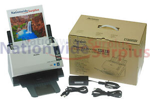 Avision AV185+ High Speed Desktop Document Receipt Photo Card Scanner Neat Desk