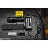 Flashlight 2000 LM LED XM-L2 USA Tactical Zoom 2 Battery 26650 X800 Shadowhawk