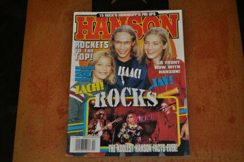 Hanson Featured In Hit Sensations Magazine Pinups!