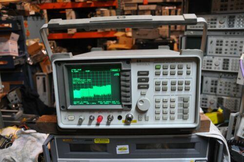 HP 8563A Spectrum Analyzer 9kHz - 22 GHz  shows  error 317 and 334