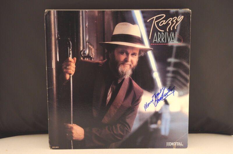 Razzy Bailey Arrival Autographed Signed Album LP PSA Guaranteed