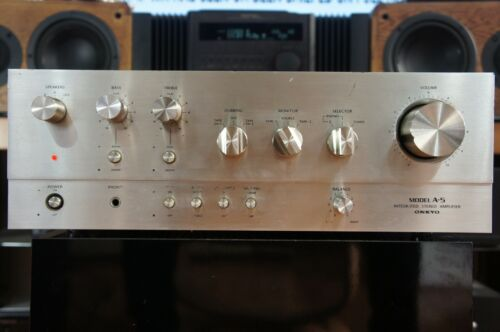 ONKYO MODEL A-5 VINTAGE STEREO INTEGRATED AMPLIFIER