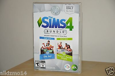 The Sims 4  Spa Day   Perfect Patio Expansion Pack Bundle  Pc Mac