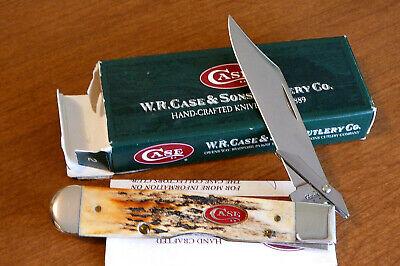 Case XX 51111/2L Stag Cheetah Swingguard 2007 Red Case Shield Knife