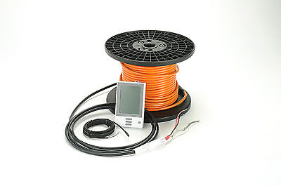 Warm All Indoor Radiant Floor Slab Heating System - 240V - 235 Sq/Ft