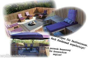 stuhlkissen sitzkissen sitzpolster auflage bankauflage polster nach ma ebay. Black Bedroom Furniture Sets. Home Design Ideas