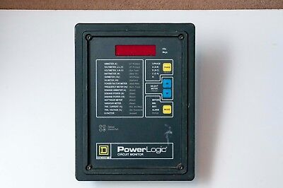 Square D Power Logic 3020cm-2450 Circuit Monitor W 3020iom-44 2 Available