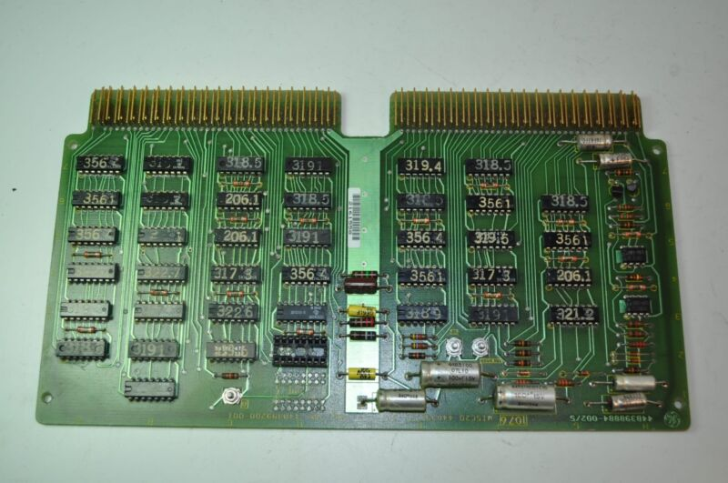 GE Fanuc Control Circuit Board Card PCB  #- 44B399200-001 / 44A398785-GO1 1076