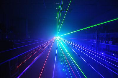 Willi Pro UK TRIFAN LASER LIGHT RED GREEN BLUE Disco / Nightclub DJ lazer rgb