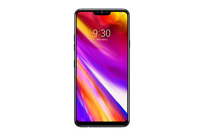 "New LG G7 ThinQ 64GB Aurora Black 4G LTE 6.1"" Octa Core Android 8.0 Sim Free UK"