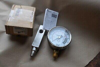 Enerpac Gp-10s Hydraulic Pressure Gauge 12 Npt 10000 Psi Dry Wga2 New