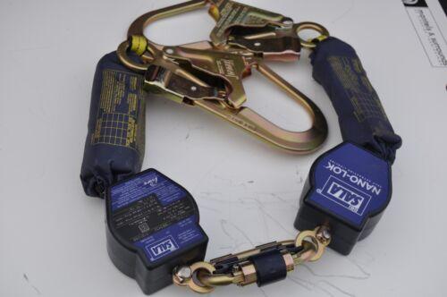 DBI SALA 3101280 Twin-Leg Quick Connect Self Retracting Lifeline - Web NEW