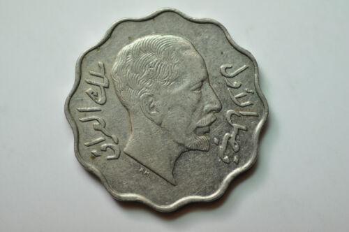 mw10039 Iraq; 4 Fils AH1349 - 1931 AD  -  Faisal I  1921 - 1933  KM#97  XF