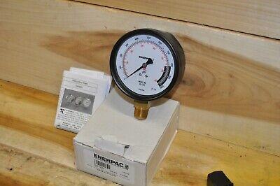 Enerpac Gp-10s Pressure Gauge 4in 0-10000psi 12in Npt