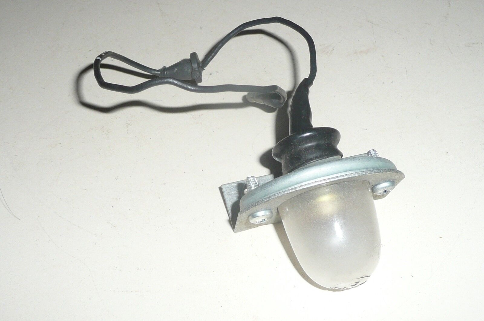 1958 Ford Mercury station wagon license plate lamp assembly NOS ranchero 58 lite