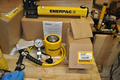 Enerpac Scl502h Rcs-502 Low Height Hydraulic Cylinder P392 Ga45gc Hc7206