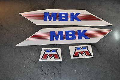 kit autocollants stickers mbk 51 CF