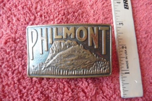 Vintage Boy Scouts of America Philmont Brass Belt Buckle Scout Ranch