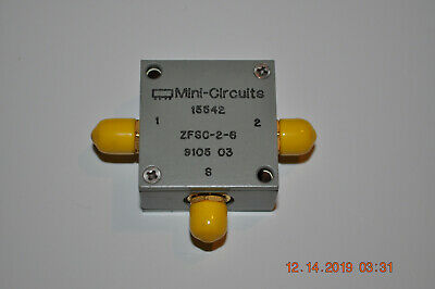 Mini-circuits Zfsc-2-6 Power Splitter Sma - Nos