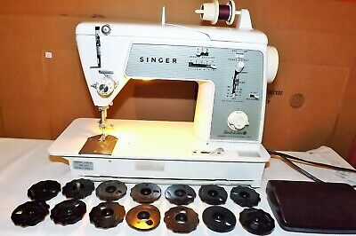 Vintage Singer Special Zig-Zag Touch & Sew Sewing Machine Model 648