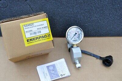 Enerpac Ga45gc Gauge Adaptor Assembly 0-10000psi With G2535l Gauge New