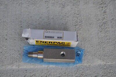 Enerpac Ga3 Gauge Adaptor 14 Npt Gauge Port New